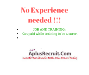 care assistant jobs no experience
